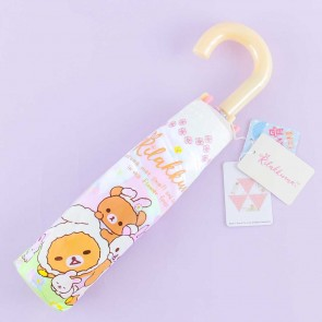 Rilakkuma & Rabbit Portable Foldable Umbrella
