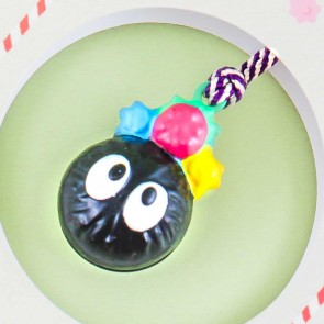 Spirited Away Pocket Bell Charm - Soot Sprite