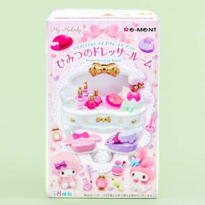 Re-Ment My Melody Secret Dress-Up Room Toy Kit