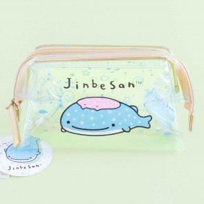 Jinbesan Marine Sea Clear Cosmetic Bag