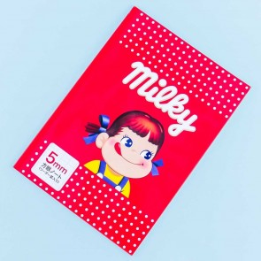 Milky Peko-Chan Grid Notebook