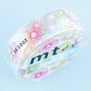 MT Spirograph Fun Washi Tape