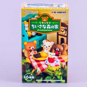 Re-Ment Rilakkuma Forest House Toy Kit