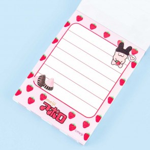 Apollo Strawberry Chocolate Memo Pad