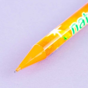Natchan Orange Soda Mechanical Pencil With Charm
