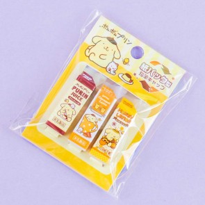 Pompompurin Drink Carton Pencil Cap Set