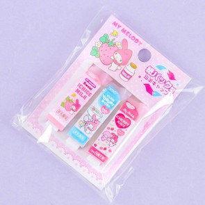 My Melody Drink Carton Pencil Cap Set
