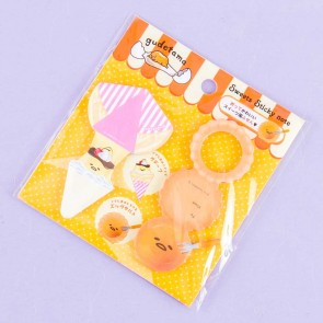 Gudetama Sweets Foldable Sticky Notes Set