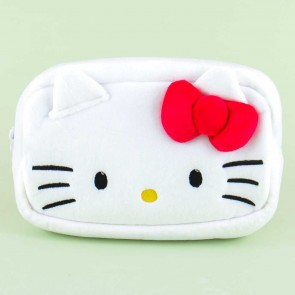 Hello Kitty Fluffy Pouch