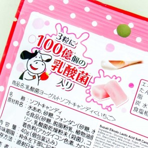 Suzuki Eikodo Lactic Acid Yogurt Candies - Strawberry