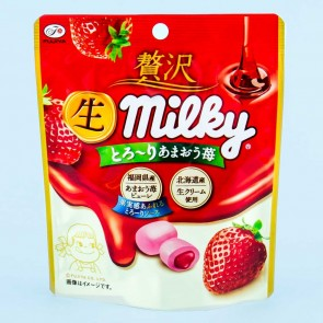 Fujiya Milky Candy - Amaou Strawberry