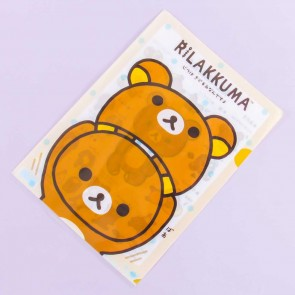 Rilakkuma Costume A4 File Folder