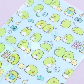 Sumikko Gurashi Penguin Loves Cucumbers A4 File Folder