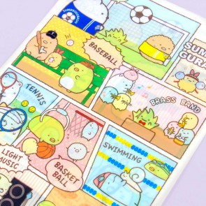 Sumikko Gurashi Sports Club A4 File Folder