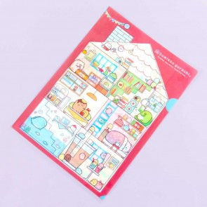 Sumikko Gurashi Happy House A4 File Folder