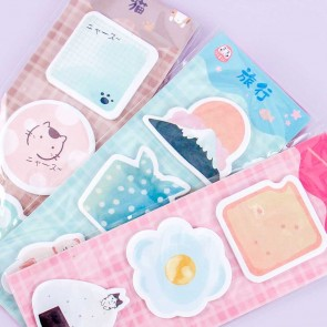 Playful Neko Sticky Notes