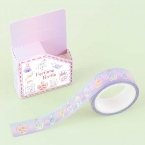 Glittery Perfume Bottle Washi Tape