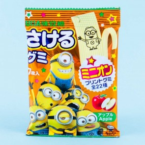 UHA Minions Sakeru Fruit Juice Gummy - Apple