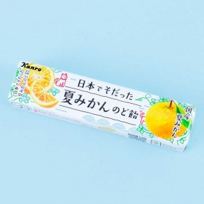 Kanro Throat Candies - Japanese Summer Mikan