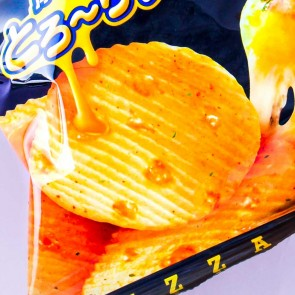 Calbee Pizza Potato Chips - Double Cheese
