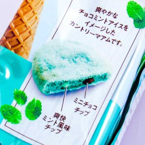 Fujiya Country Ma'am Cookies - Choco Mint Ice Cream