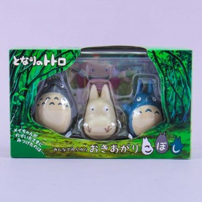 My Neighbor Totoro Roly-poly Toy Set - 3 pcs