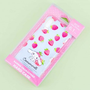 Cinnamoroll Strawberries Hard Case for iPhone XR