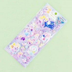Bejeweled Daydream Sugar Kiss Girl Puffy Stickers