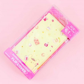 Pompompurin Breakfast Flip Cover Case for iPhone XR