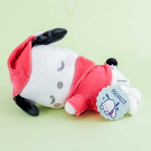 Pochacco Sleeping Plushie - Medium