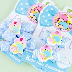 Little Twin Stars Ribbon Hair Tie Set
