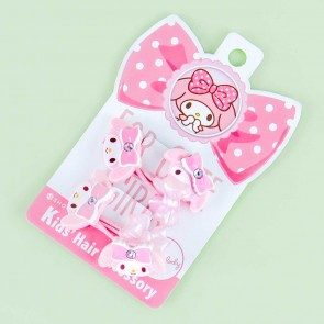 My Melody Jewel Ribbon Hair Tie Set