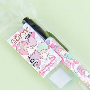 Little Twin Stars Pastel Hearts Double Marker