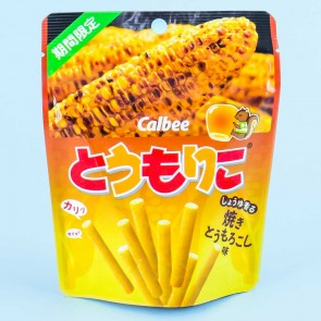 Calbee Tomoriko Grilled Sweet Corn Snacks