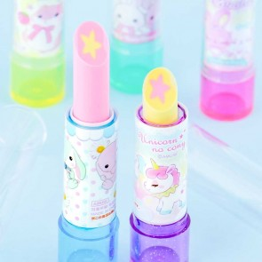 Amuse Character Sparkly Lipstick Eraser