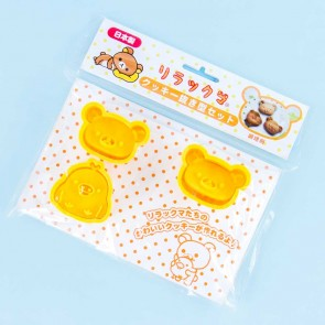Rilakkuma Die-Cut Cookie Cutter Set
