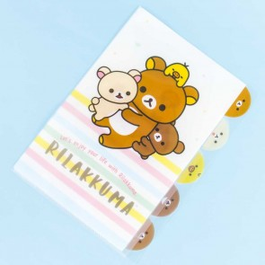 Rilakkuma L-Shaped Multi-Section Folder