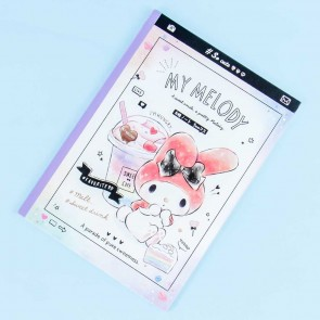 My Melody Sweet Café Grid Notebook