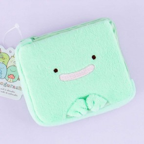Sumikko Gurashi Fluffy Square Lizard Coin Purse
