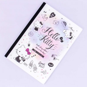 Hello Kitty Style Grid Notebook