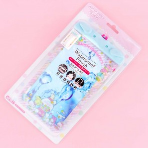 Sanrio Characters & Gumballs Waterproof Pouch for Smartphone