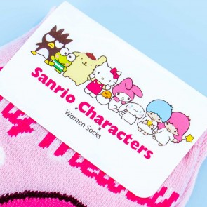 My Melody Flowery Pink Socks