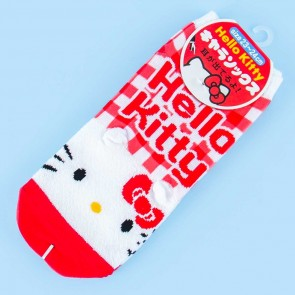 Hello Kitty Red Gingham Socks