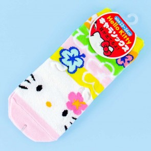 Hello Kitty Tropical Flower Socks