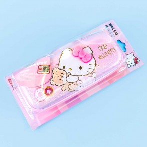 Hello Kitty Glitter Hardshell Pencil Case