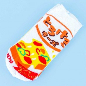 Japanese Slice Cheese Kids Socks