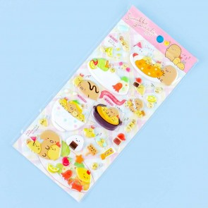 Sumikko Gurashi Curry Meal Puffy Stickers