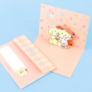 Pompompurin Pop-Up Greeting Card