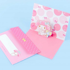 My Melody Pop-Up Greeting Card
