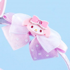 My Melody Headband With Polka Dot Bow